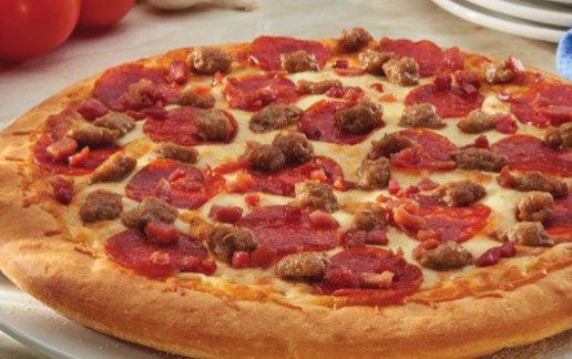 Three Meat Treat Pizza Kit