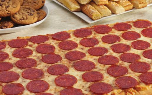 Little Caesars Family Meal Pizza Kit