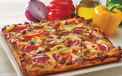 Supreme Pan Pizza Glamour